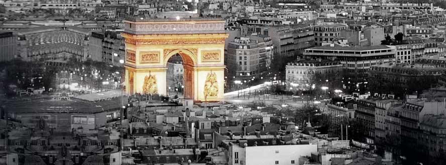 Centre of Paris representing LaPont French Language Course